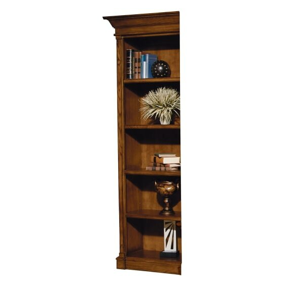 Shultz Left Pier Standard Bookcase by Loon Peak