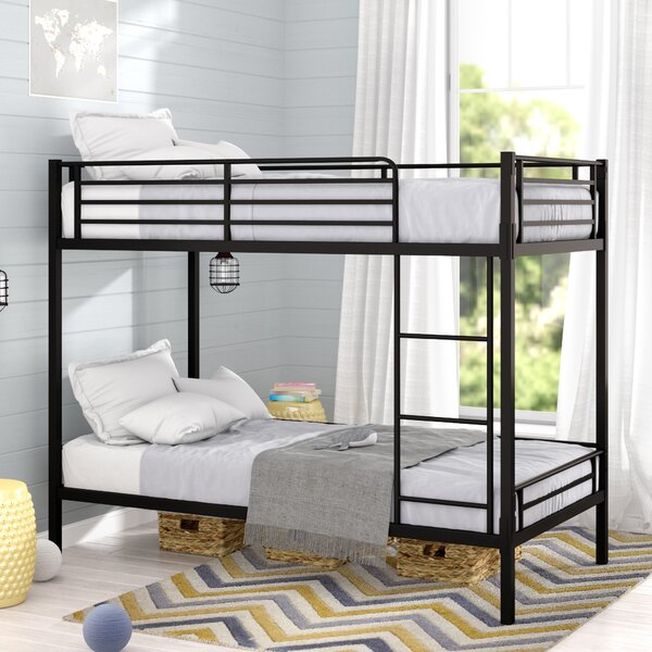 Dwight Twin over Twin Bunk Bed by Viv + Rae