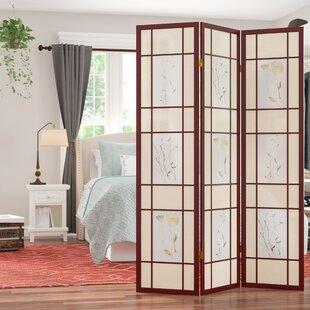 Compare & Buy Kinkade Shoji 3 Panel Room Divider ByWinston Porter