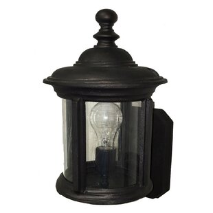 Find the perfect Perales 1-Light Outdoor Sconce By Alcott Hill