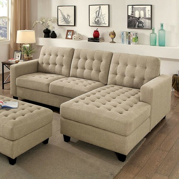 Henrik Sectional with Ottoman by Latitude Run