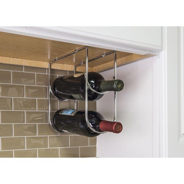 Under Cabinet 2 Bottle Wine Bottle Rack by Hardware Resources