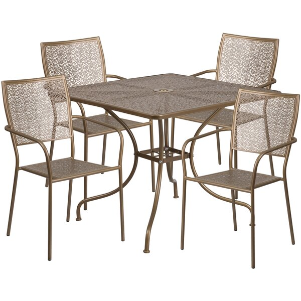 Neda 5 Piece Dining Set by Zipcode Design