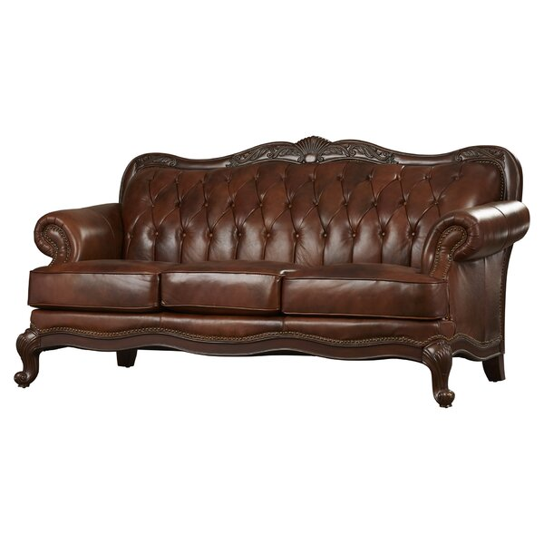 Read Reviews Smith Leather Sofa