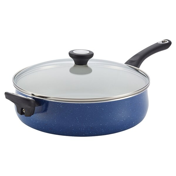 5 qt. New Traditions Jumbo Cooker Saute Pan with Lid by Farberware