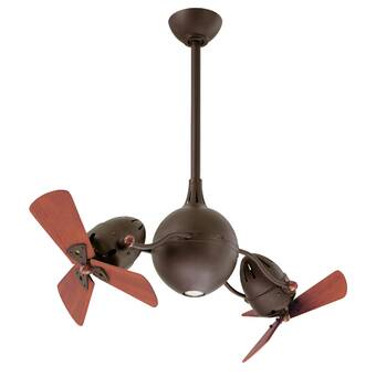17 Stories 16 Odalys 3 Blade Ceiling Fan With Wall Control Wayfair Ca