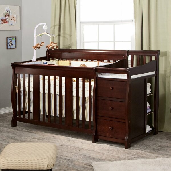 Portofino 4-in-1 Convertible Crib and Changer by S