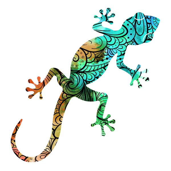 Gecko Wall Décor by Bay Isle Home