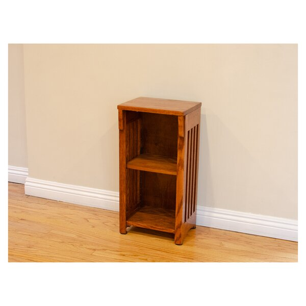 Romriell Mission Spindle Standard Bookcase By Millwood Pines