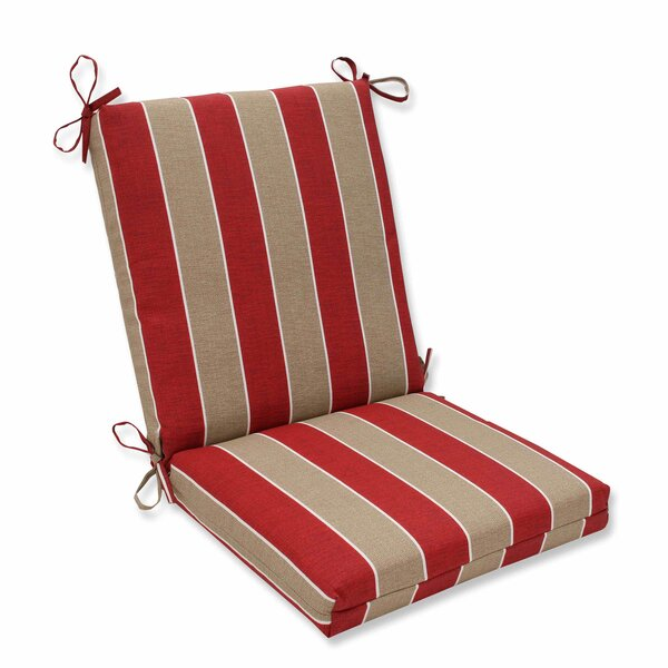 Wickenburg Indoor/Outdoor Dining Chair Cushion by Pillow Perfect
