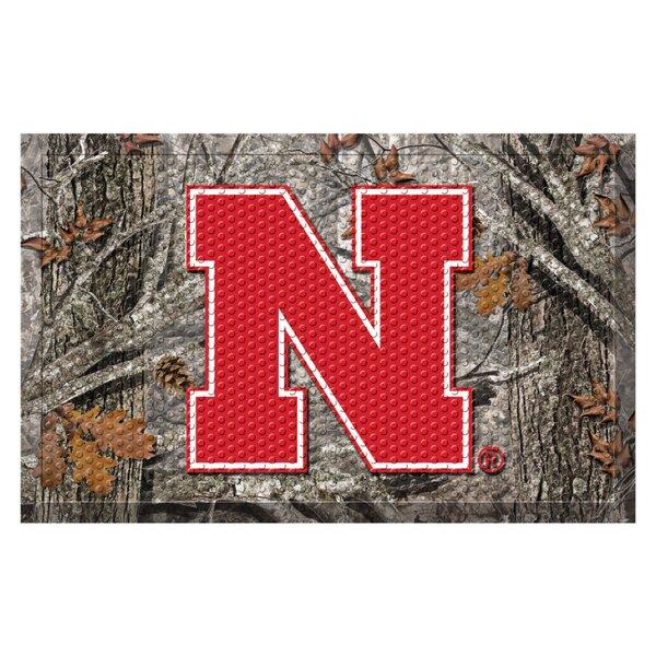 University of Nebraska Doormat by FANMATS