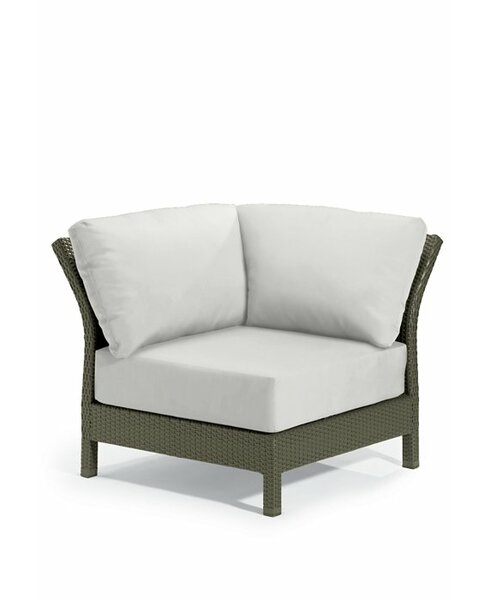 Evo Corner Patio Chair with Cushions by Tropitone