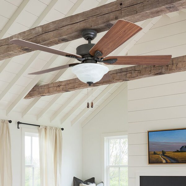 52 Plante 5 Blade LED Ceiling Fan by Charlton Home