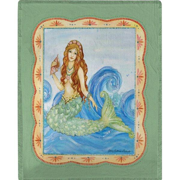 Mermaid Throw by Manual Woodworkers & Weavers