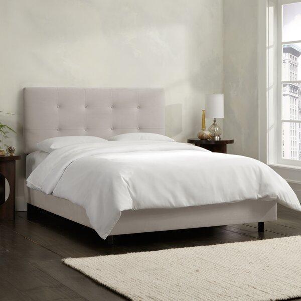 Upholstered Standard Bed by Skyline Furniture
