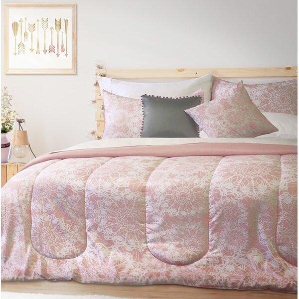 Pendergraft Printed Comforter Set by Bungalow Rose