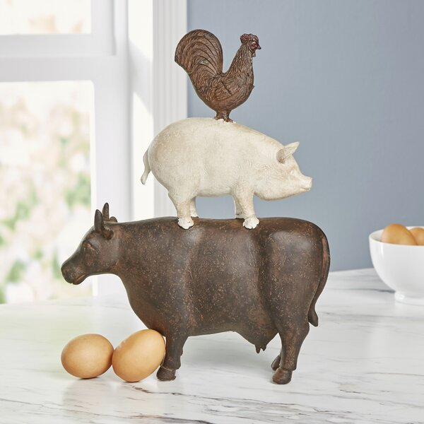 Animal Art Figurine by Laurel Foundry Modern Farmhouse
