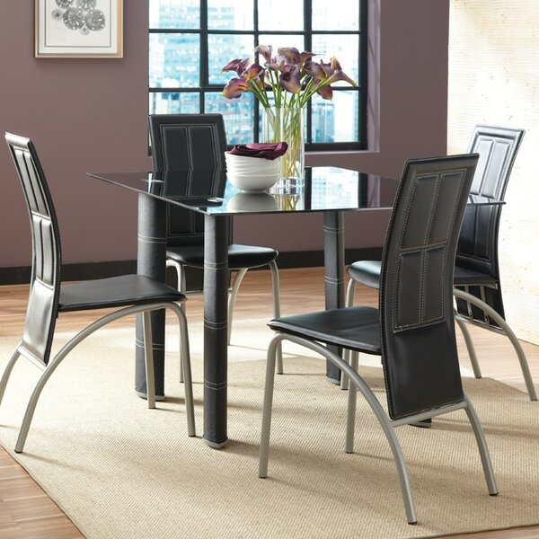 Miriam 5 Piece Dining Set by Wade Logan Wade Logan