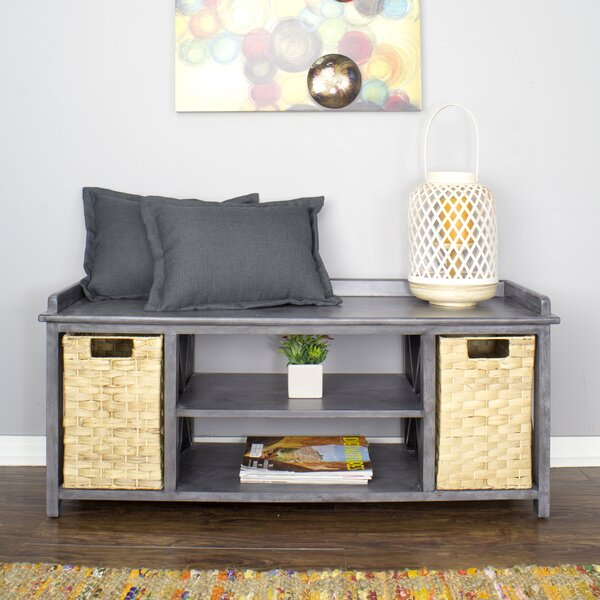 Maher Storage Bench by Rosecliff Heights