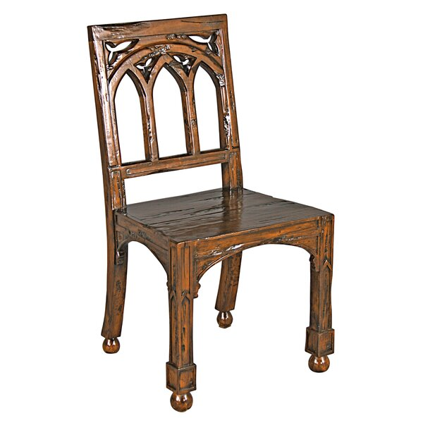 Gothic Revival Rectory Side Chair By Design Toscano
