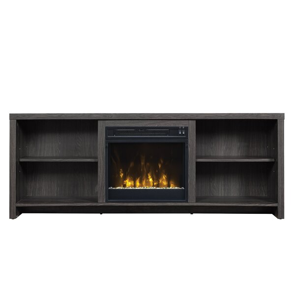 Pelton TV Stand for TVs up to 65 with Fireplace by Mercury Row
