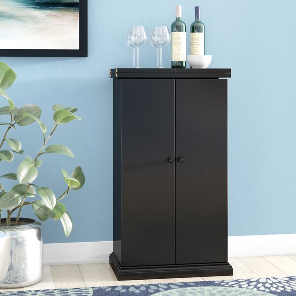 Haverhill Bar Cabinet With Wine Storage By Latitude Run