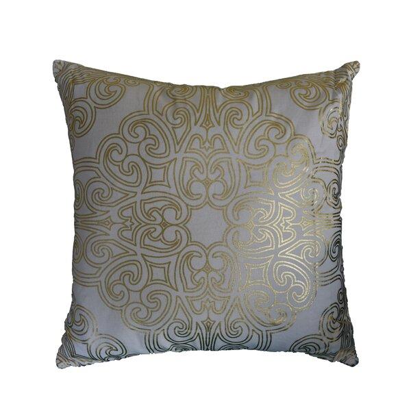 Schaeffer Mandala Cotton Throw Pillow by House of Hampton