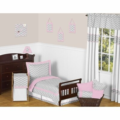 Zig Zag 5 Piece Toddler Bedding Set by Sweet Jojo Designs
