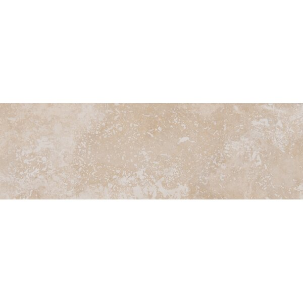 Travertine 4 x 12 Tile in Ivory by MSI