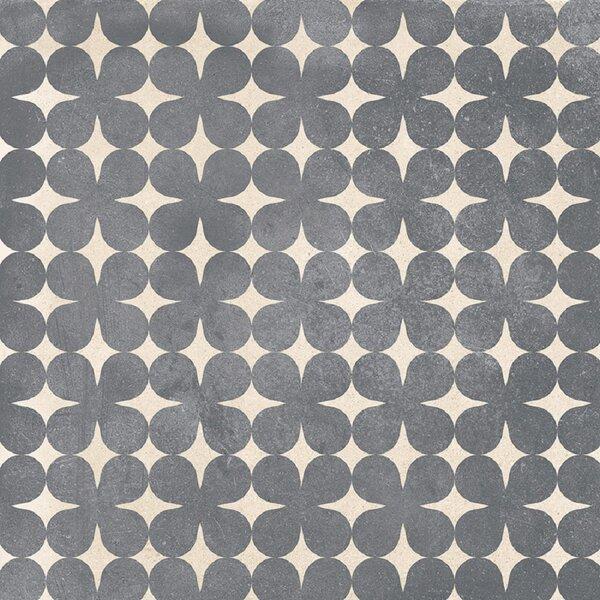 Design Evo 8 x 8 Porcelain Field Tile in Gray/White by Travis Tile Sales