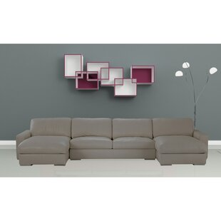 Venice Leather Sectional
