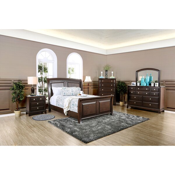 Harvell Sleigh Configurable Bedroom Set by Red Barrel Studio