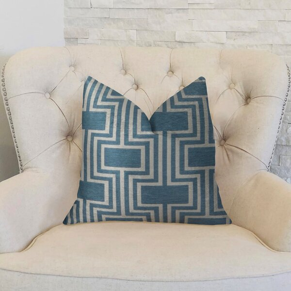 Midnight Conduit Handmade Throw Pillow by Plutus Brands