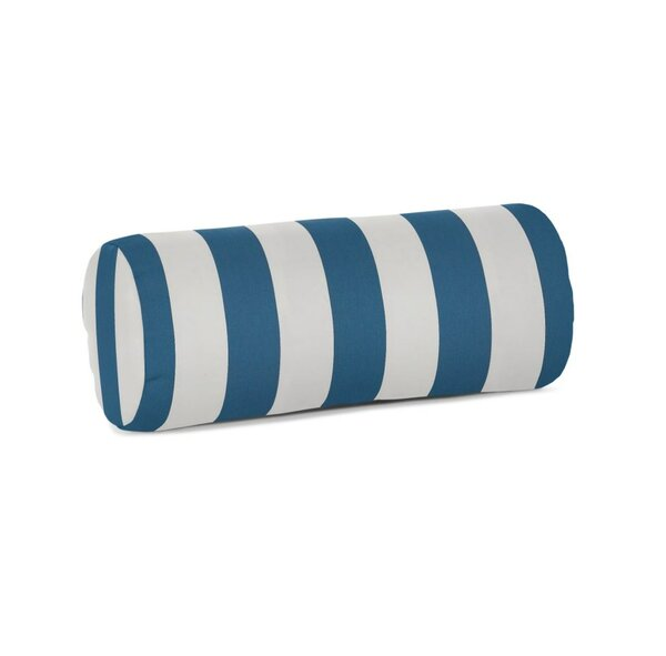 Cantwell Sunbrella Stripe Outdoor Bolster Pillow by Breakwater Bay