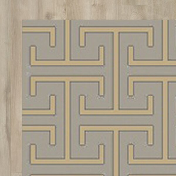 Amita Hand-Knotted Gray Area Rug by Mercer41