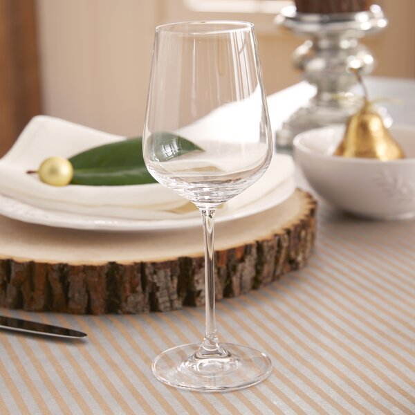 Jin 14 Oz. Chardonnay Wine Glass (Set of 6) by Mint Pantry
