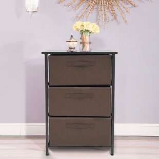 Frankford 3 - Drawer Bachelor's Chest in Brown by Rebrilliant