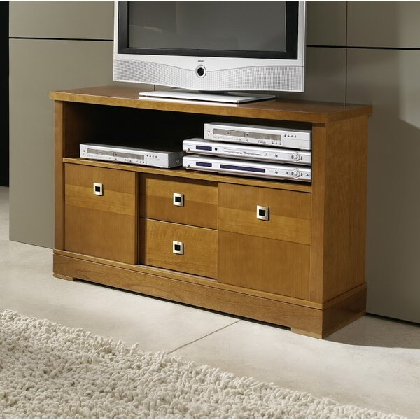 Moorer Solid Wood TV Stand For TVs Up To 55