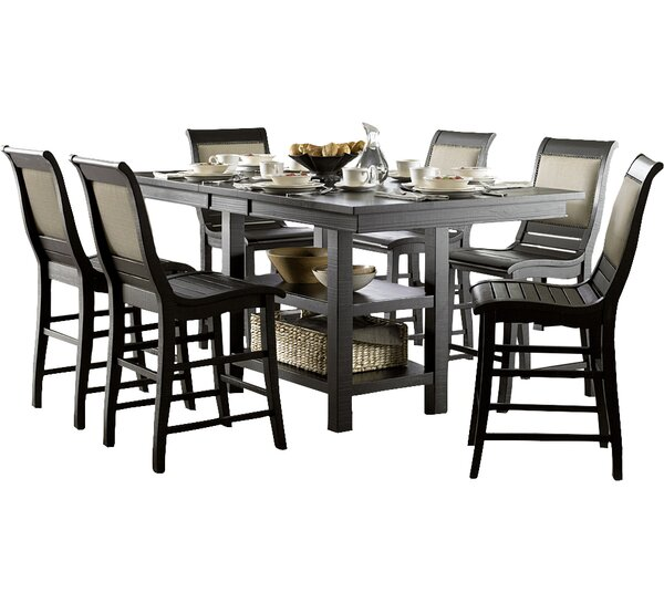 Castagnier Extendable Dining Table by Lark Manor