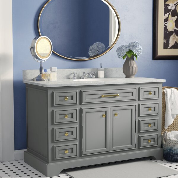 Bergin 48  Single Sink Bathroom Vanity Set by Three Posts