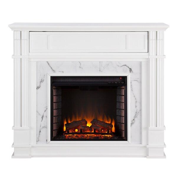 Shanley Electric Fireplace by Alcott Hill Alcott Hill
