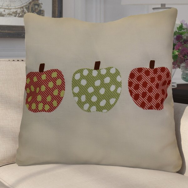 Pelle 3 Little Pumpkins Geometric Euro Pillow by Darby Home Co