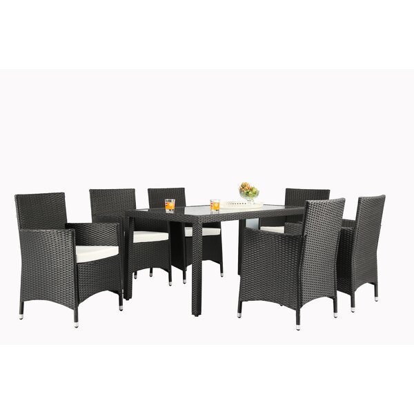 Tinker 7 Piece Dining Set by Mistana