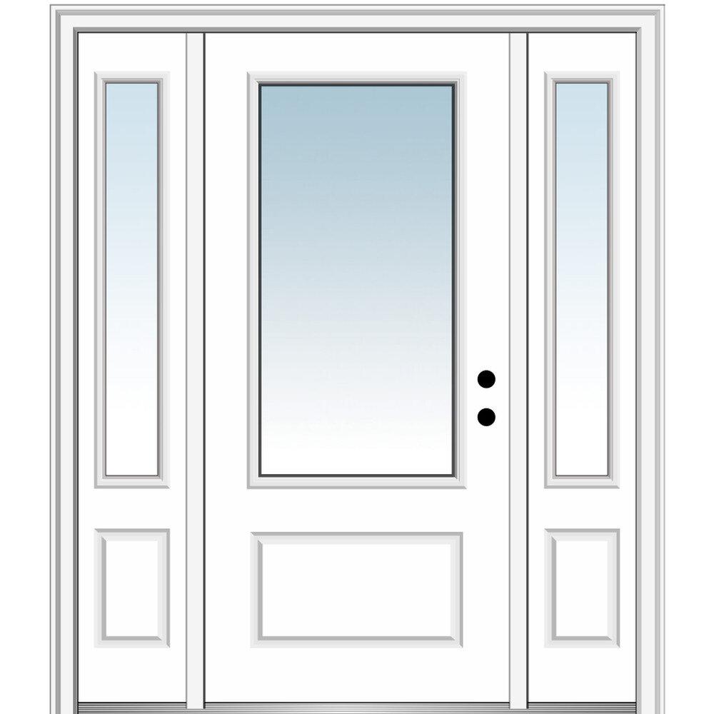 Front Fiberglass Exterior Doors Free Shipping Over 35 Wayfair