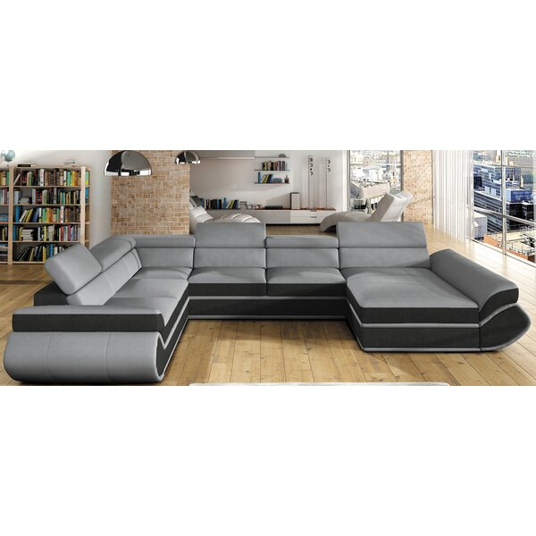 Mohammed Sleeper Sectional With Ottoman By Orren Ellis