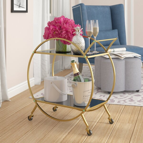 Kiven Bar Cart by Willa Arlo Interiors
