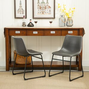 Delightful Lotusville Vintage Side Chairs (Set Of 2). Brown Gray
