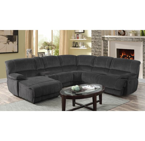 Winchelsea Reclining Sectional Collection by Ebern Designs