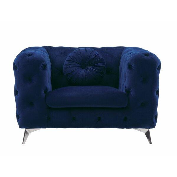 Shepardson Armchair by Everly Quinn Everly Quinn