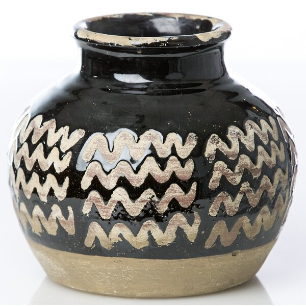 Moroccan Zig Zag Table Vase by Abigails